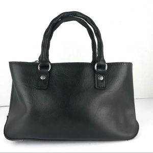 Patricia Nash Black Leather Crossbody Purse